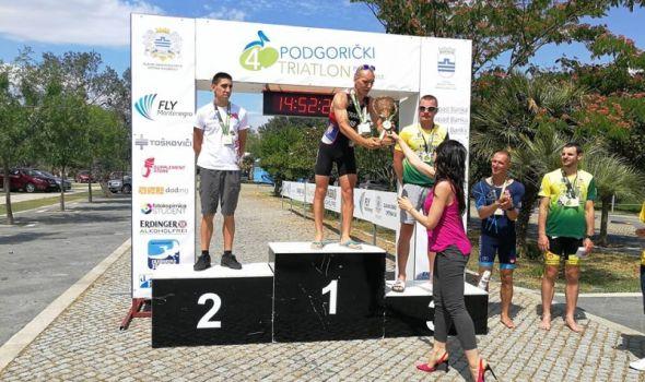 Trijumf Trakića i Maksimovića na Olimpijskom triatlonu u Podgorici