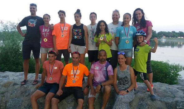 Klubu ekstremnih sportova Kragujevac sedam medalja na Srebrnom jezeru