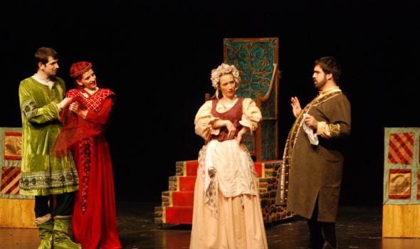 """Predstava """"Kneginjica i zagonetke"""" u Pozorištu za decu"""
