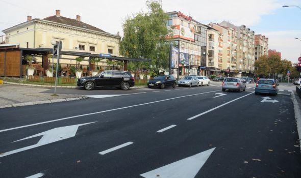 Završeni radovi u ulici Kneza Miloša (FOTO)