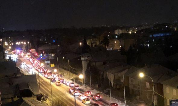 Putari zakazali, saobraćajni KOLAPS u celom gradu! (FOTO)