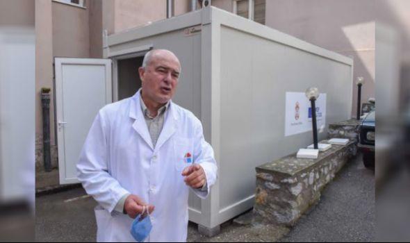 Kragujevac od Evropske unije dobio 5 KONTEJNERA za trijažu i uzorkovanje kao pomoć u borbi protiv Korona virusa