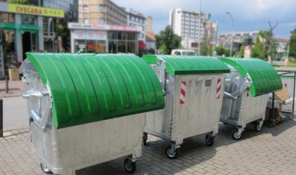 Nastavljena zamena dotrajalih kontejnera (FOTO)