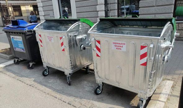 Počela zamena dotrajalih i oštećenih kontejnera
