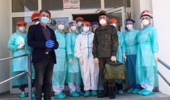Vojni epidemiolog iz Rusije obišao Dom zdravlja i Kovid ambulantu