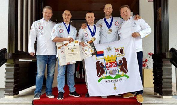 Kragujevačkim kulinarima šest medalja u Sloveniji