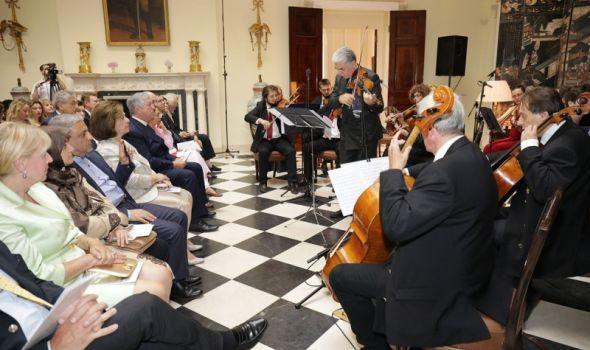 Koncert u Prvoj gimnaziji: Kraljevski gudači Setog Đorđa i Uroš Dojčinović