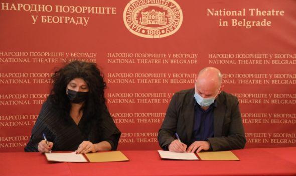 KST i Narodno pozorište Beograd potpisali protokol o saradnji