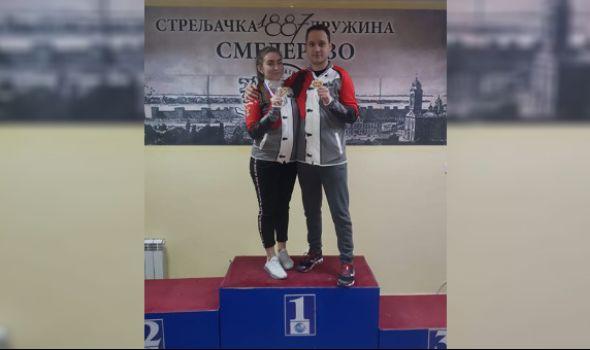 Teodora Vukojević i Milutin Stefanović brane boje Srbije na Evropskom prvenstvu u Osijeku