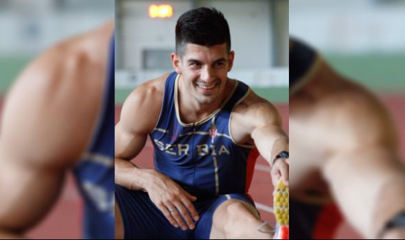 Anićev trijumfalni povratak: Skokom od 7,78m u dalj pobedio na Prvenstvu Srbije u dvorani