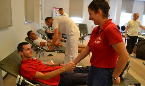 Velika letnja akcija dobrovoljnog davanja krvi u hotelu Kragujevac