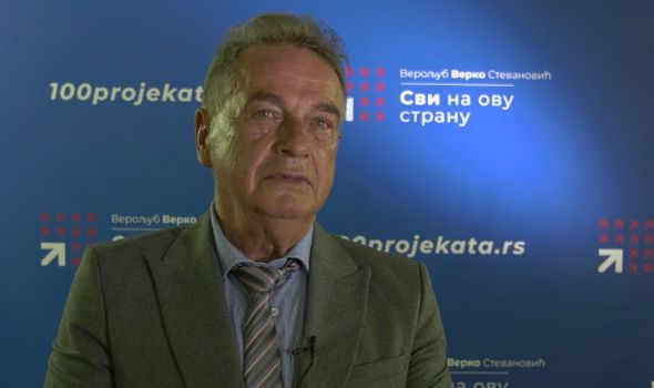 Narodni poslanik SNS-a pružio podršku Verku (VIDEO)