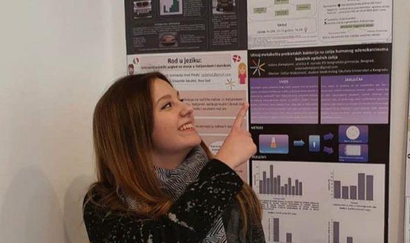 Gimnazijalka Mina Crnogorac dobitnica međunarodne nagrade iz oblasti psihologije