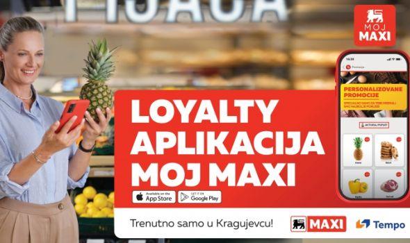 """Personalizovana kupovina uz """"Moj Maxi"""" aplikaciju"""