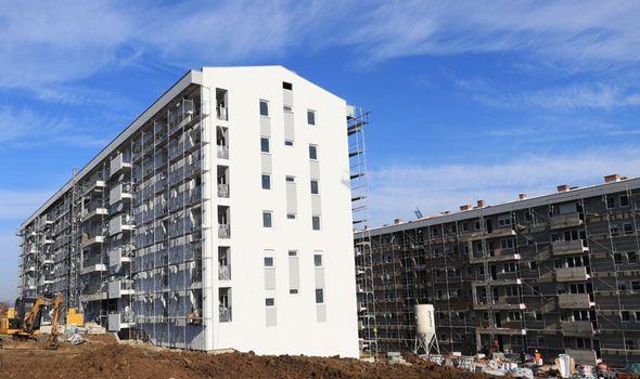 Zgrade na Deninom brdu dobijaju prve stanare