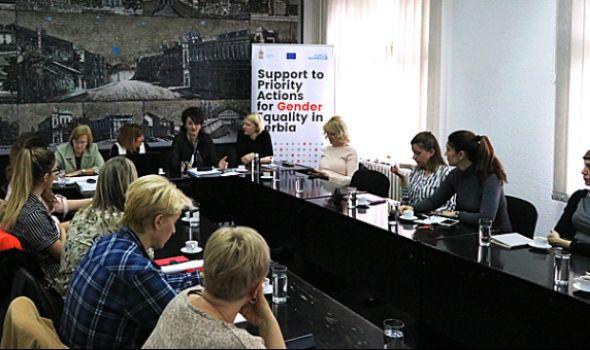 U Kragujevcu predstavljen nacrt Nacionalnog akcionog plana za rodnu ravnopravnost