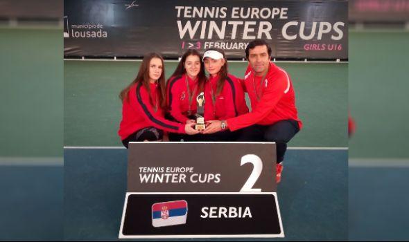 Kragujevačka teniserka Natalija Senić izborila plasman na finalni turnir Vinter kupa Evrope