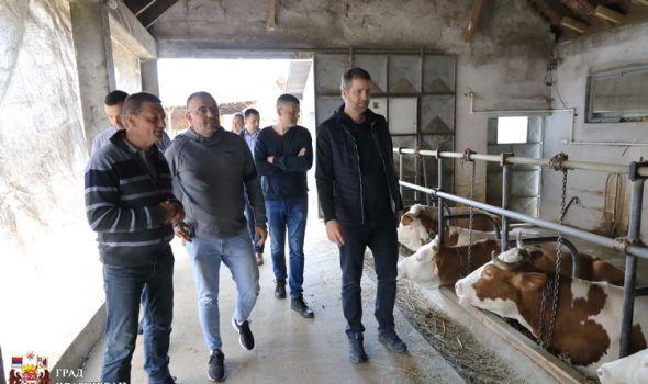 Nedimović: Ako igde ima smisla ulagati u stočarstvo, onda je to na prostoru Kragujevca (FOTO)