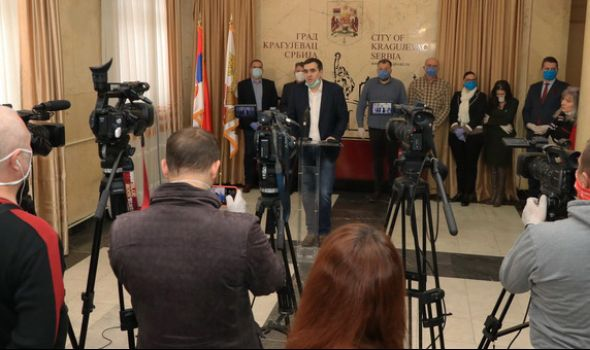 Nikolić: Kragujevac preduzeo sve neophodne mere u suzbijanju Korona virusa