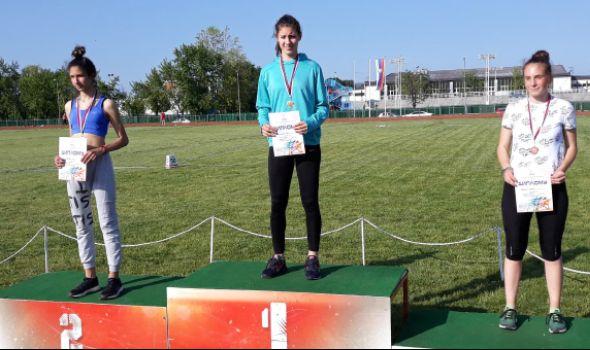 Radovanovićevoj dve medalje u Kruševcu