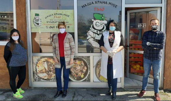 """Humani Kragujevčani sa """"Bankom hrane"""" pripremaju obroke za najugroženije građane"""