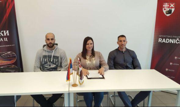 Odbojkaši Radničkog spremni za megdan sa Partizanom