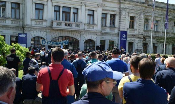 Sindikati prete zajedničkim protestom radnika iz cele Srbije u Kragujevcu
