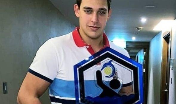 Naš ponos: MITROVIĆ prvi Kragujevčanin vicešampion sveta koga je iznedrio VK Radnički