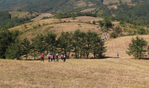 """Besplatna osnovna obuka za planinare: """"Praksa"""" u kanjonu Voljavice, na gledićkom Crnom vrhu, Kablaru"""
