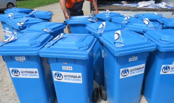 Plave kante za primarnu selekciju otpada domaćinstvima u Šumaricama