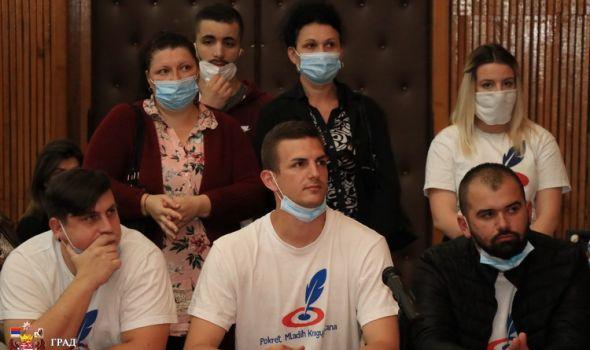 """Proglašena Izborna lista """"Pokret mladih Kragujevčana"""""""