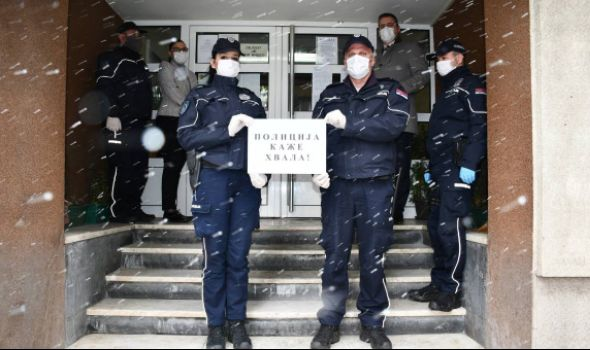 POLICIJA KAŽE HVALA Kragujevčanima koji poštuju Vladine mere za sprečavanje širenja Korona virusa (VIDEO)