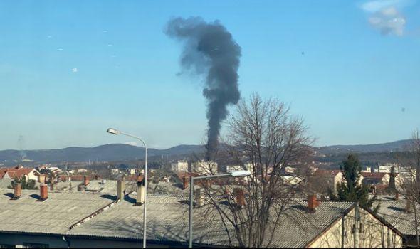 Požar u Ilinoj vodi: Gorela štala u Eko parku