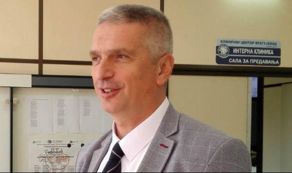 Sazdanović za InfoKG: Kineski i ruski stručnjaci zaključili da je u KC Kragujevac borba protiv Korona virusa na svetskom nivou