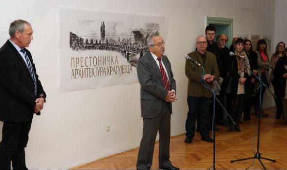 "Otvorena izložba ""Prestonička arhitektura Kragujevca"""