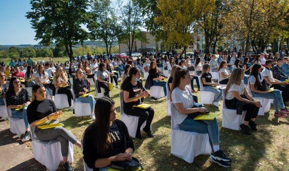 Svečani prijem 61 generacije studenata Ekonomskog fakulteta (FOTO)