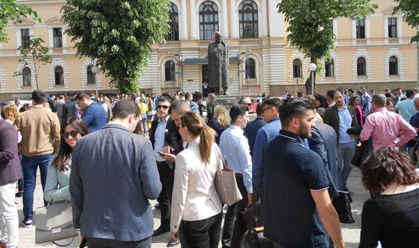 I kragujevački advokati protestovali protiv Zakona o parničnom postupku