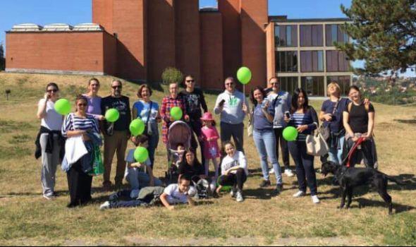 PRUŽI KORAK: Humanitarna šetnja u Kragujevcu