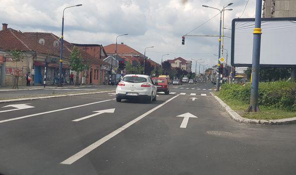 OKONČANA rekonstrukcija dela državnog puta kroz Kragujevac: Novi asfalt od hale Jezero do Šest topola