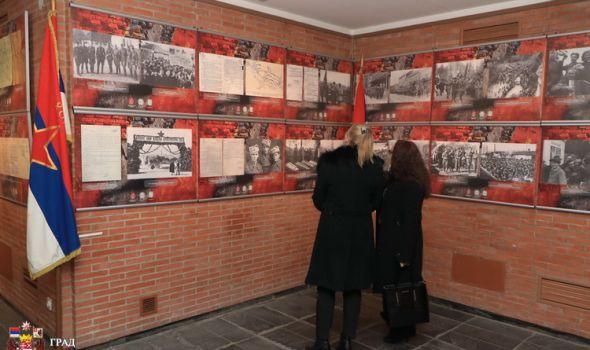 """Otvorena izložba """"Ratna slika Srbije u Drugom svetskom ratu"""""""