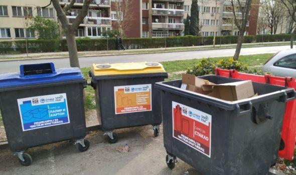 Teraju po svome: U nove kontejnere za sekundarne sirovine neki ne biraju šta bacaju
