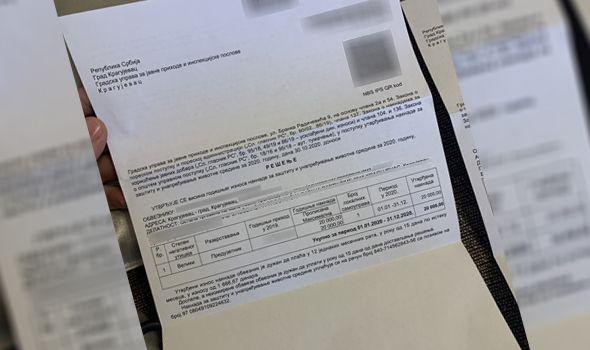 EKO TAKSA od 5.000 do 2 miliona: Stigla rešenja za naplatu na adrese oko 7.000 kragujevačkih obveznika