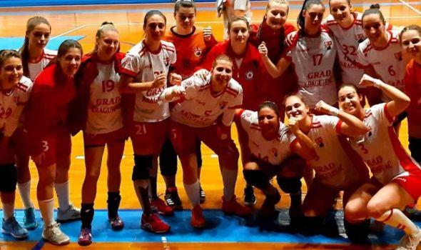 Kragujevčanke podelile plen sa šampionkama