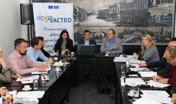 Formirana Institucionalna radna grupa pri Gradskom veću u okviru Programa ROMACTED