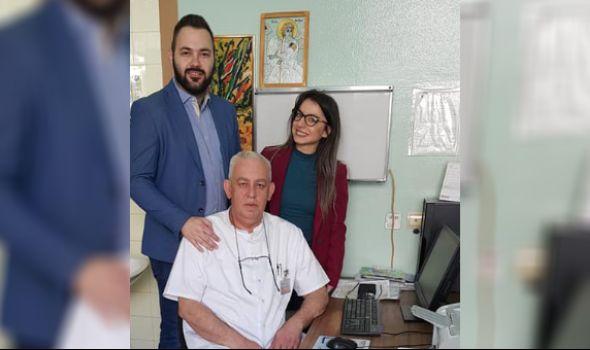 Rotaraktovci donirali štake Klinici za ortopediju i traumatologiju