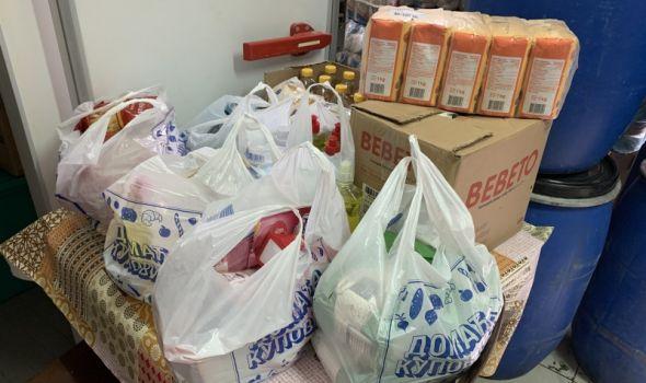Rotaraktovci donirali namirnice i sredstva za higijenu za najugroženije porodice