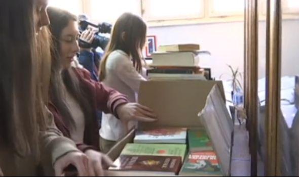 RTS donirao 3.000 knjiga Prvoj kragujevačkoj gimnaziji