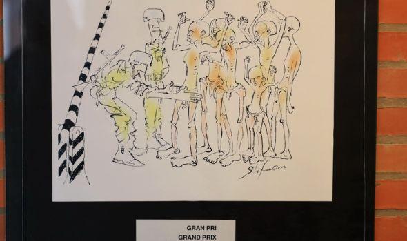 Otvorena izložba 21. Međunarodnog Salona antiratne karikature