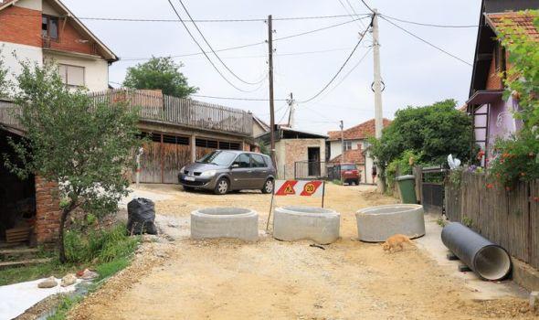 Počela sanacija ulica oštećenih usled padavina