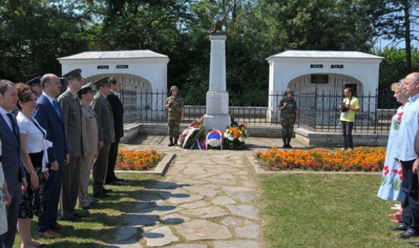 Sećanje na streljane Slovake u Kragujevcu